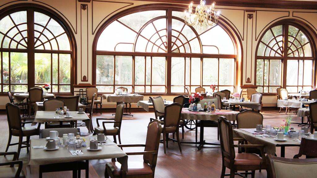 Dining Hall 1.1 – Westchester Sunrise