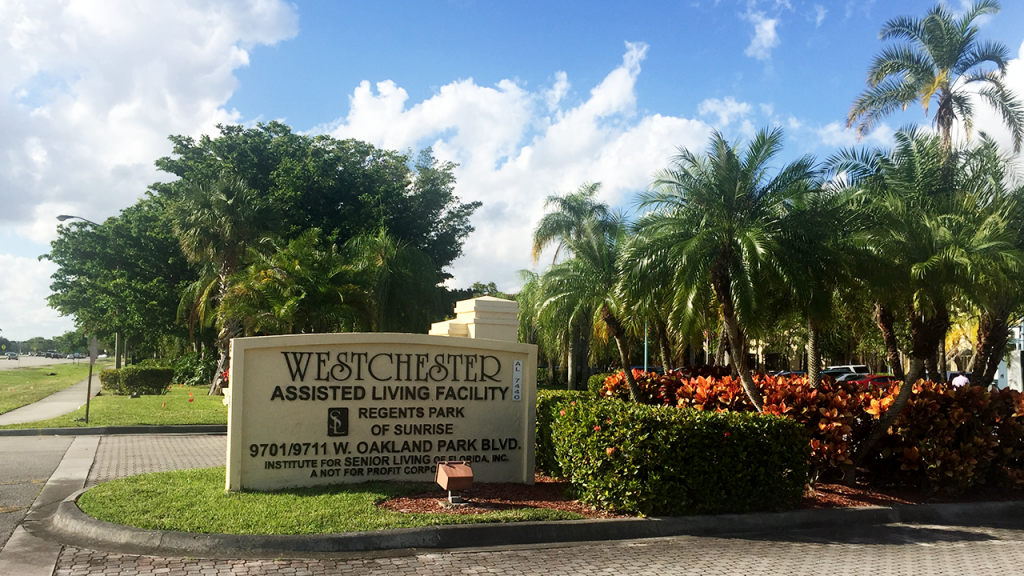 Outside sign – Westchester Sunrise