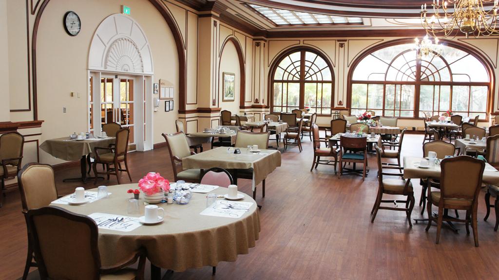 Dining Hall – Westchester Sunrise